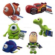 Набор мягких игрушек Pixar и Dream Works