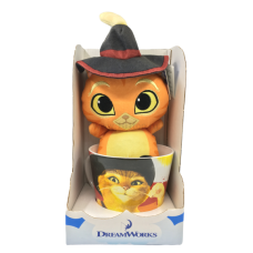 Кот в сапогах Игрушка в кружке DreamWorks