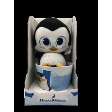 Пингвин Шкипер игрушка в кружке DreamWorks
