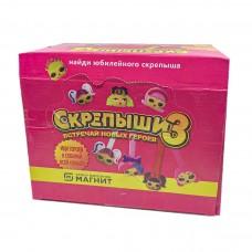 Скрепыши 3 розовая ЛОЛ коробка 200шт не оригинал Китай