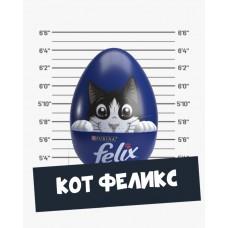 Треснутые яйца Кот Феликс Редкие