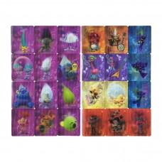 Карточки Тролли полный набор 24шт